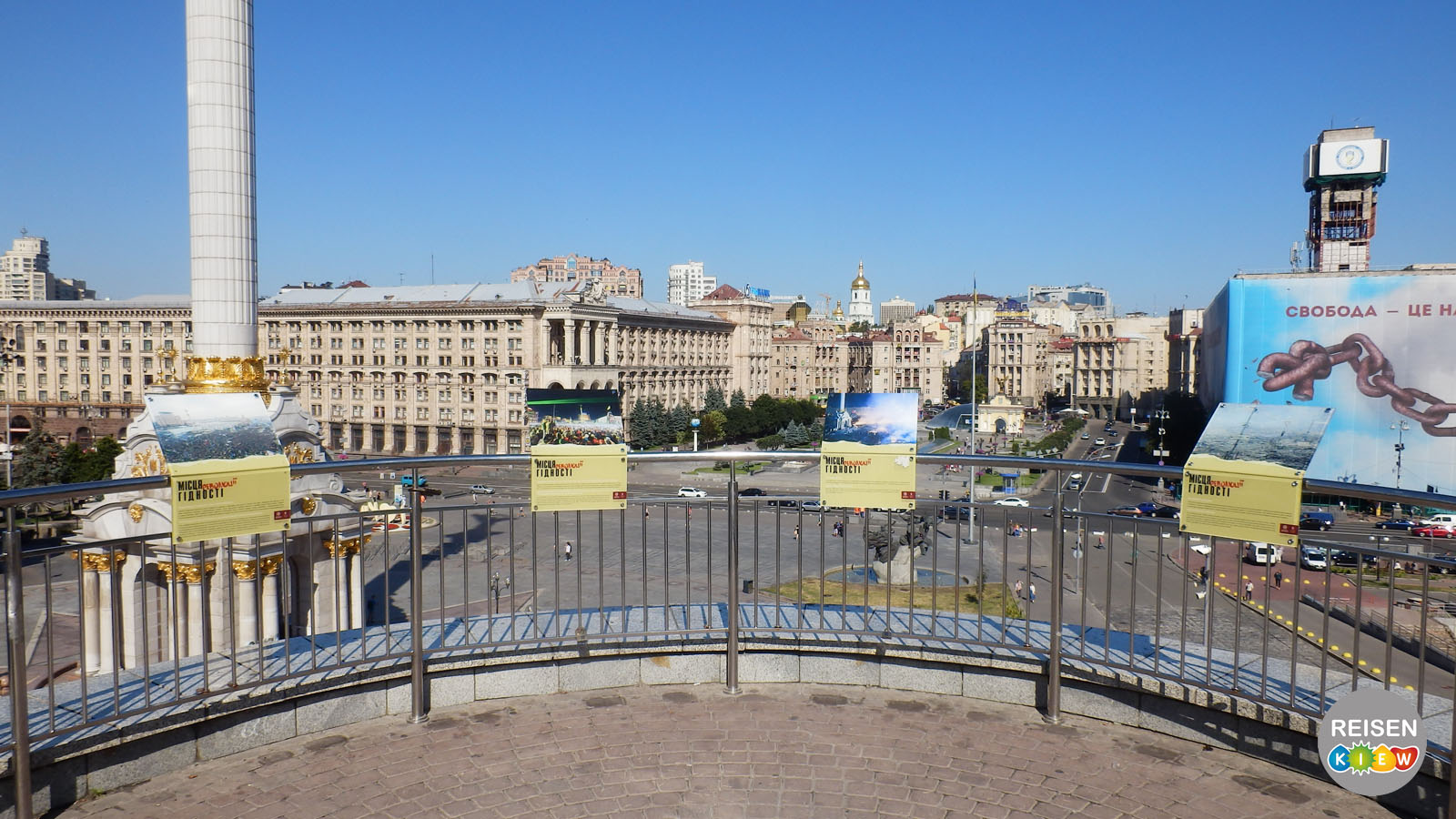 Majdan in Kyiv