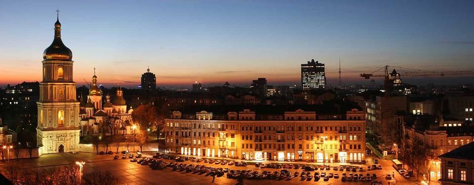 Rundgänge durch Kiew