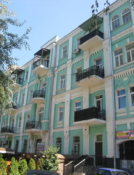 Das Wohnhaus von Wladimir Betz