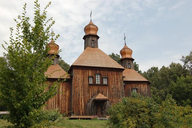 Holzkirche in Pirogowo