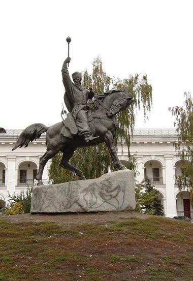 Sahajdatschnyj-Monument