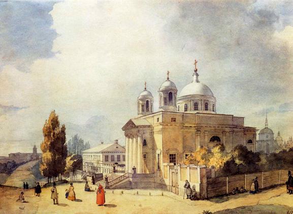 St. Alexanderkirche in Kiew