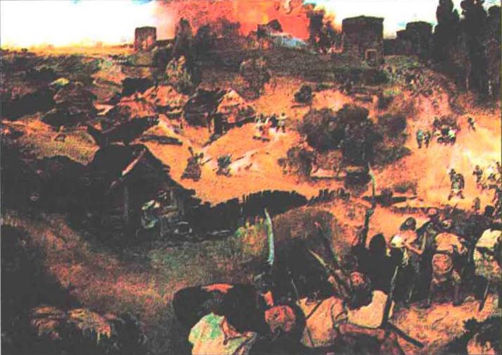 Volksaufstand in Kiew im Jahre 1113