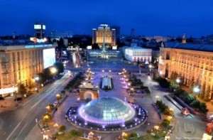 Majdan und Chreschtschatyk