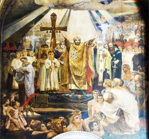Taufe der Kiewer Rus