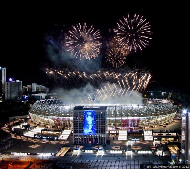 NSC Olimpiyskiy in Kiew