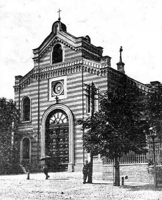 St. Katharinenkirche Anfang des 20. Jhs.