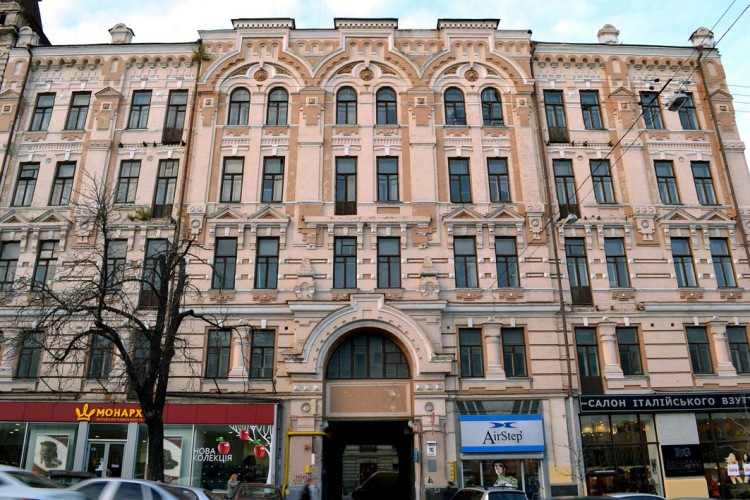 Mietshaus in der Bohdan Chmelnyzkyj Straße