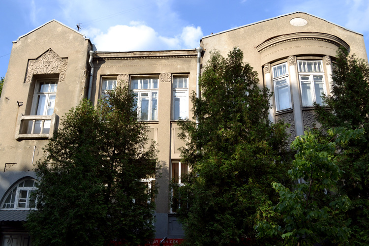 Villa von Bradtmann  in der Herzen Straße