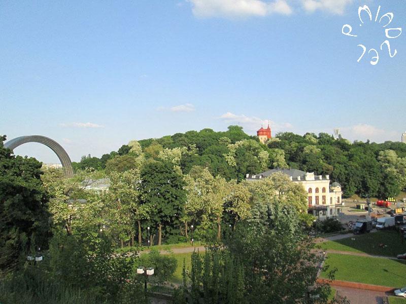 Panoramablick auf Chreschtschatyj-Park