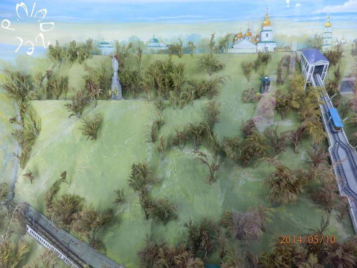 Diorama des Wolodymyr-Huegels