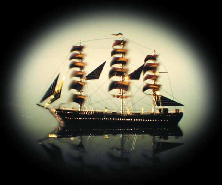Die unvorstellbar kleine und kunstvolle Fregatte