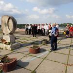 Der Zug zum Ehren von Taras Schewtschenko in Kiew