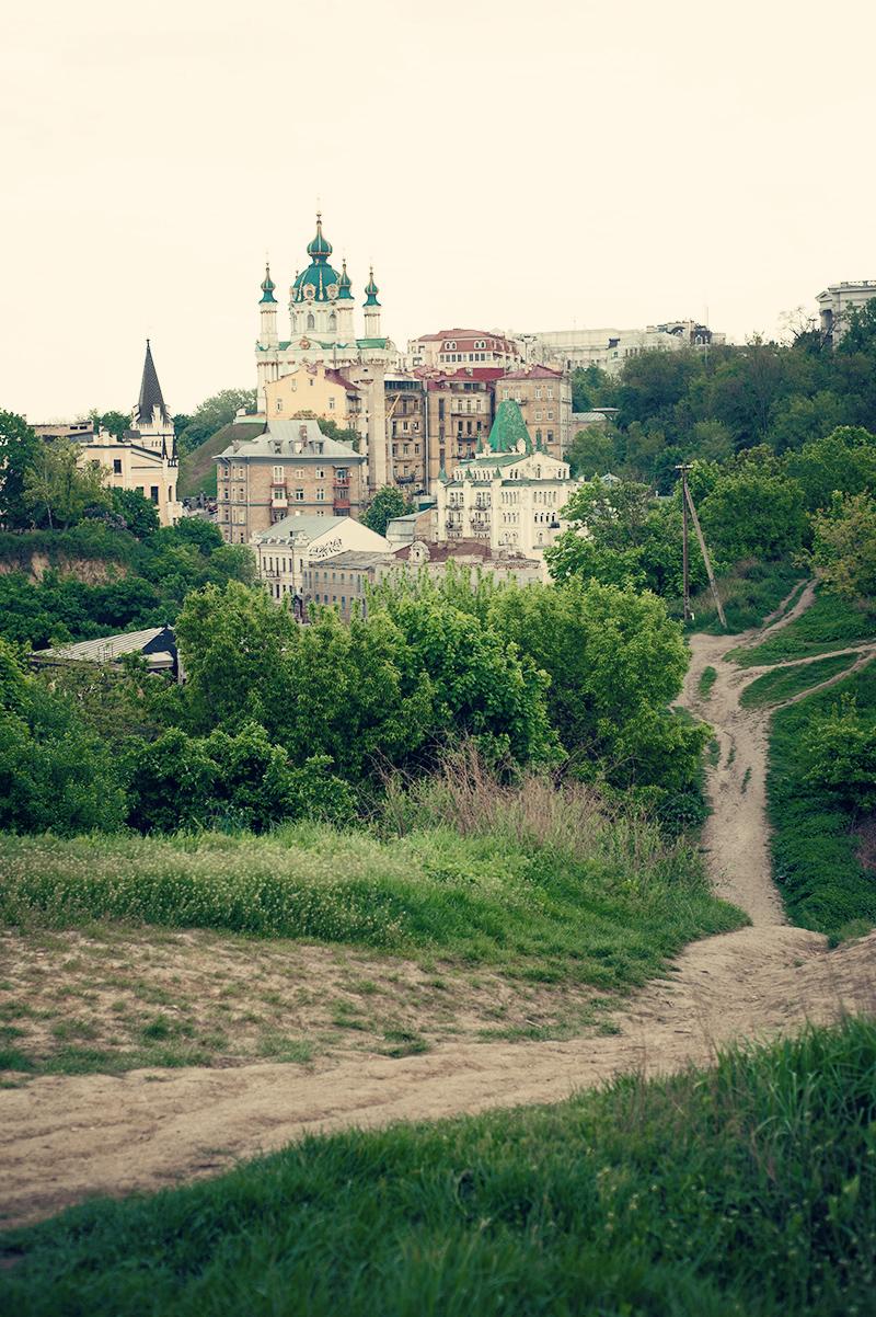 Andreaskirche. Blick aus dem Schlossberg