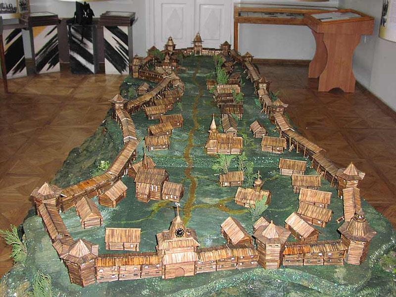 Model des Kiewer Holzschlosses
