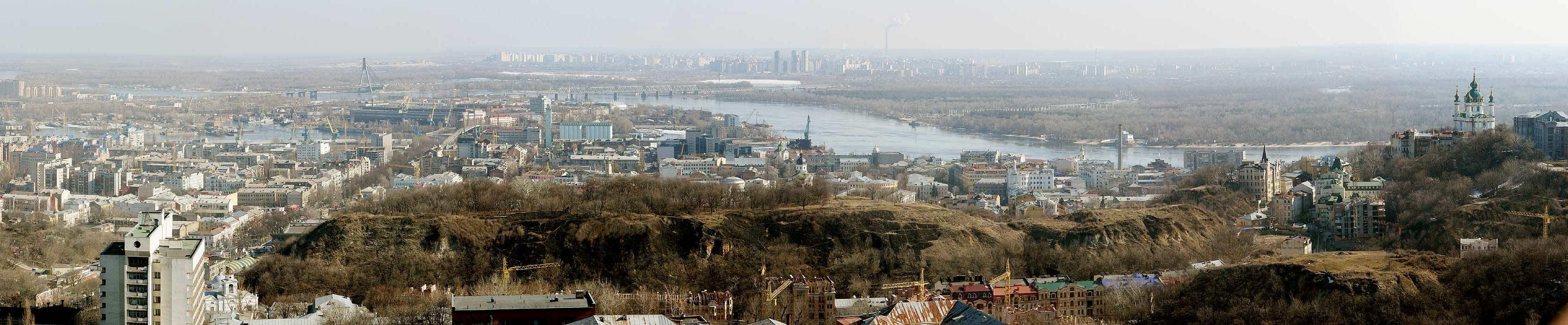 Schlossberg in Kiew