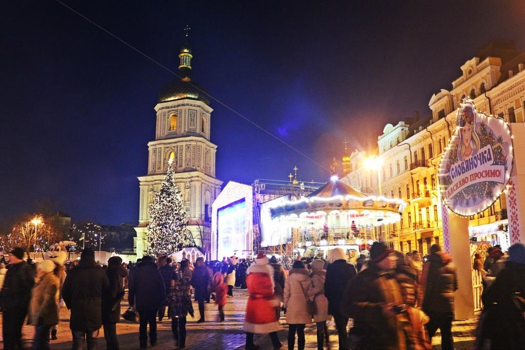 Weihnachten auf dem Sophienplatz
