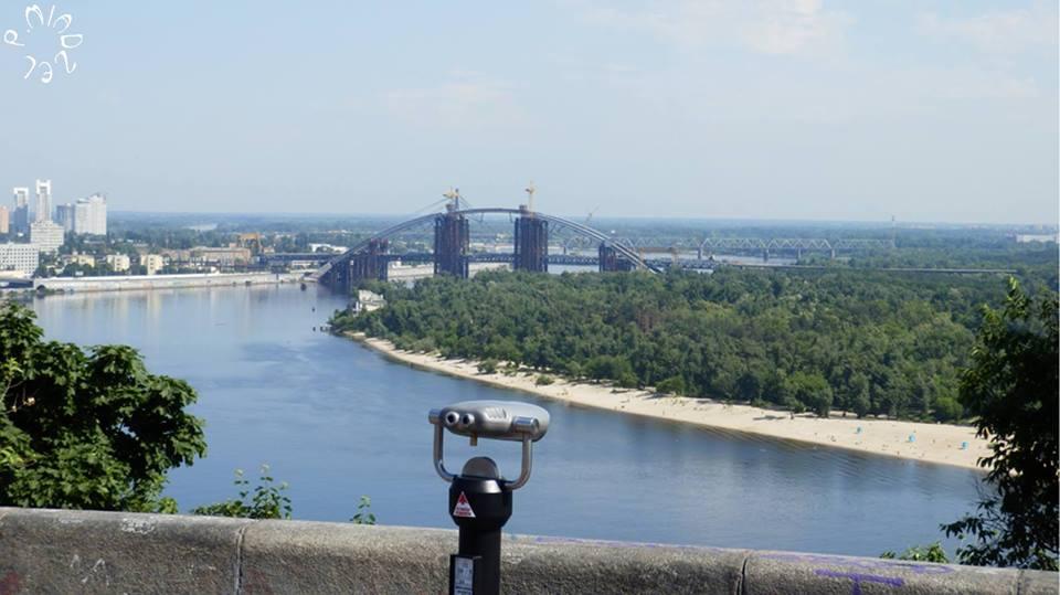 Dnepr und Truchanow-Insel