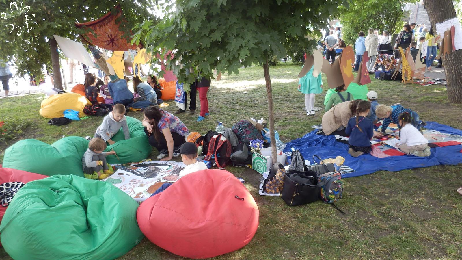Das Stadtfest von Kiew
