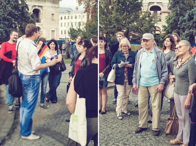 """Stadtführung """"Deutsche Spuren im Podil"""""""