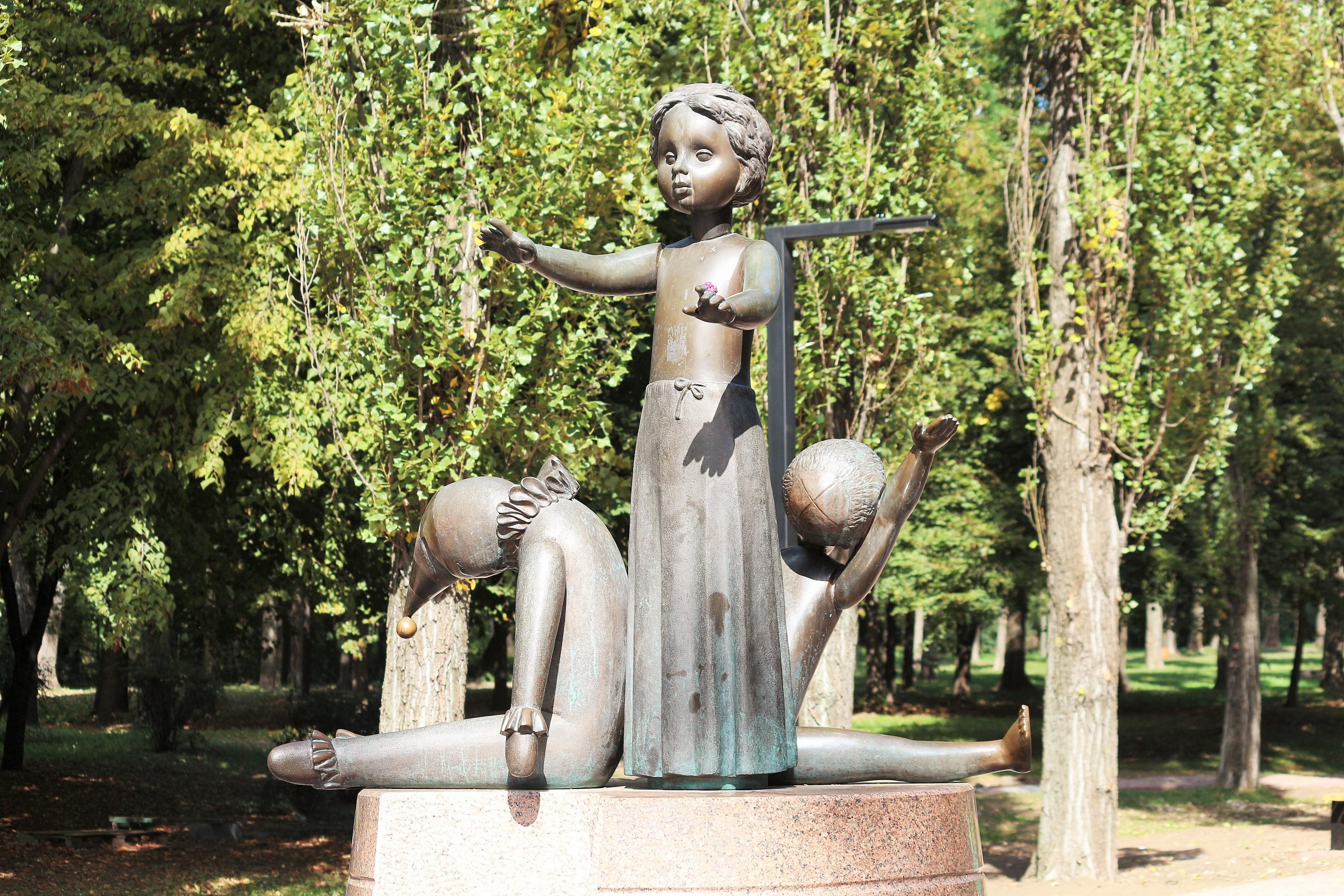Denkmal für die erschossenen Kinder