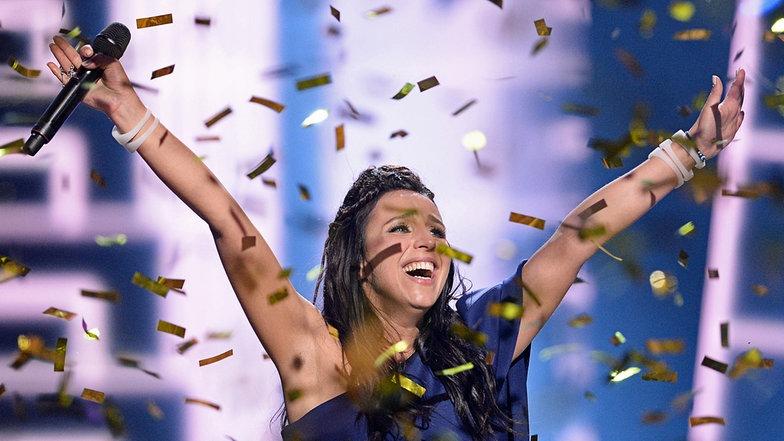 Die Gewinnerin des Eurovision Song Contest 2016 Stockholm, Jamala