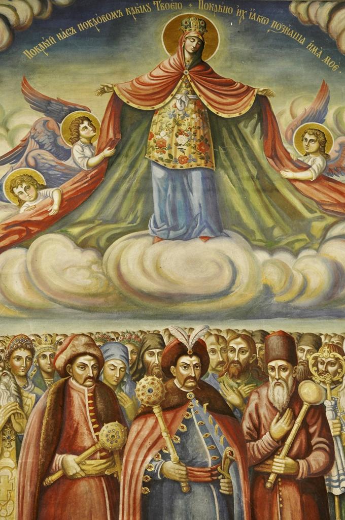 Darstellung von Kosakenhetmanen