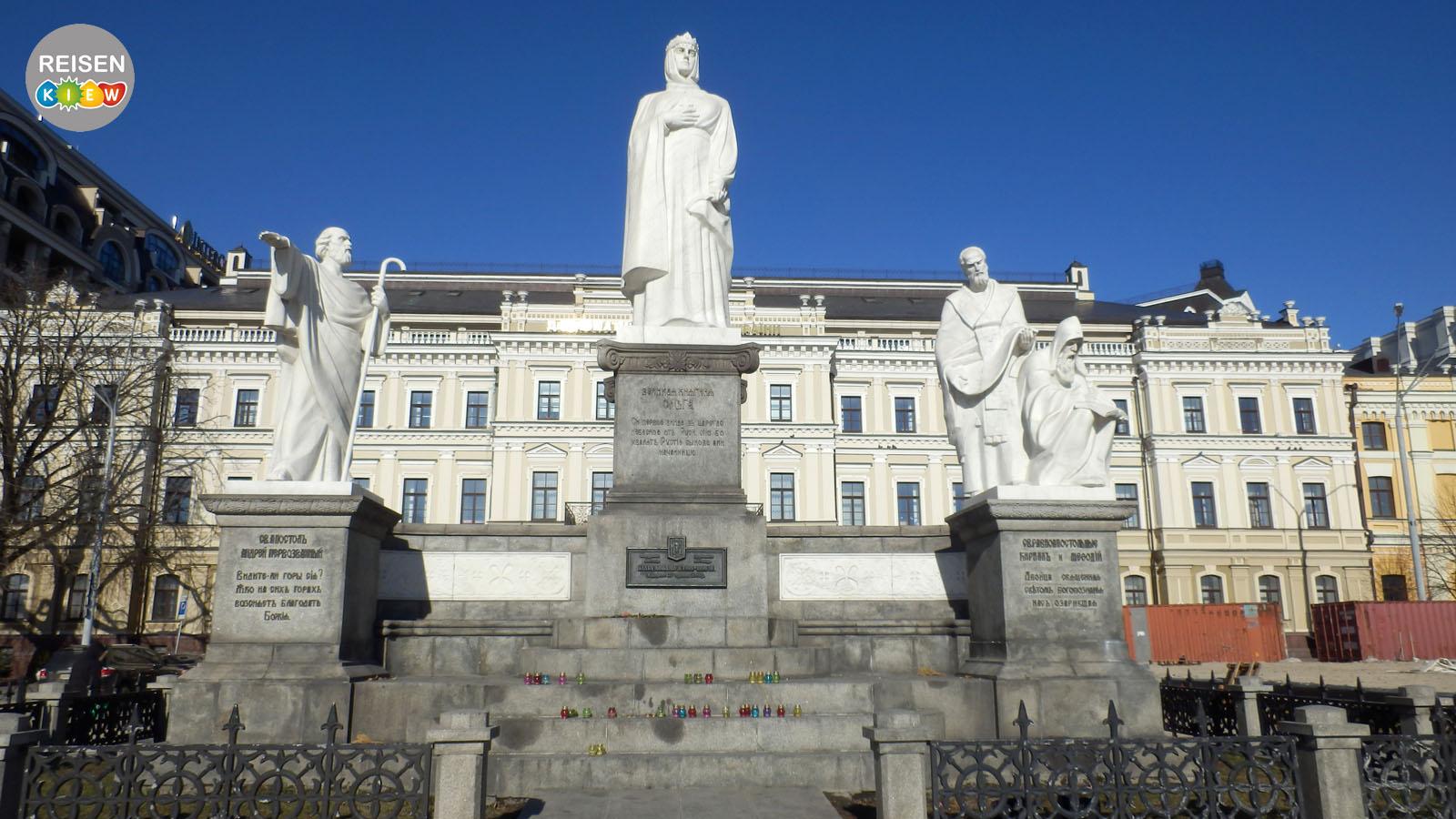Denkmal für die Fürstin Olga