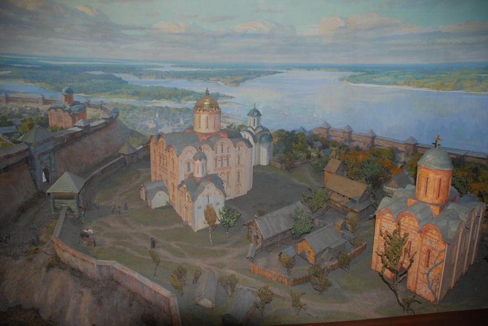 St. Michaelskloster im 12. Jahrhundert