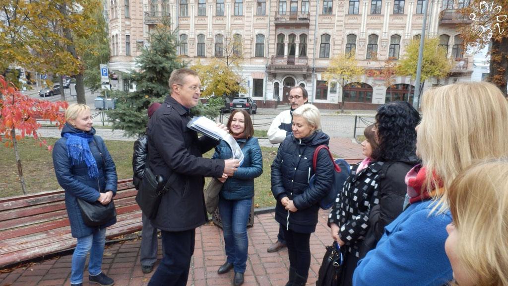 Stadtführer in Kiew