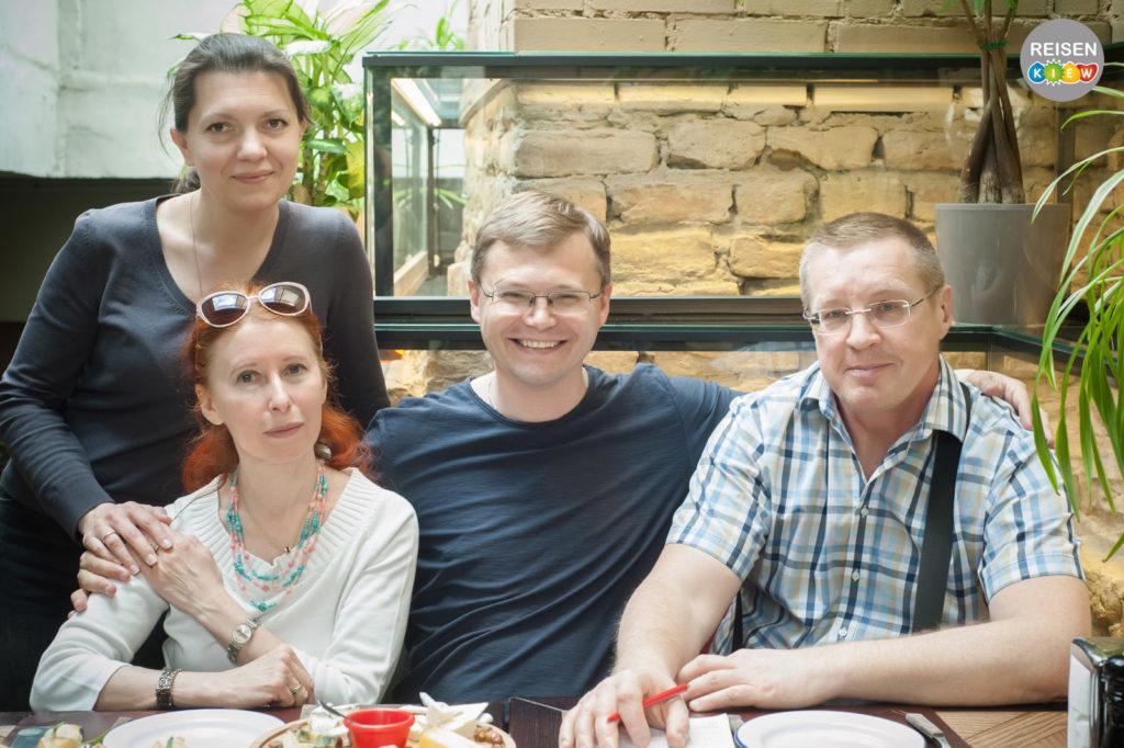 Reisen Kiew Team. Stadtführer in Kiew