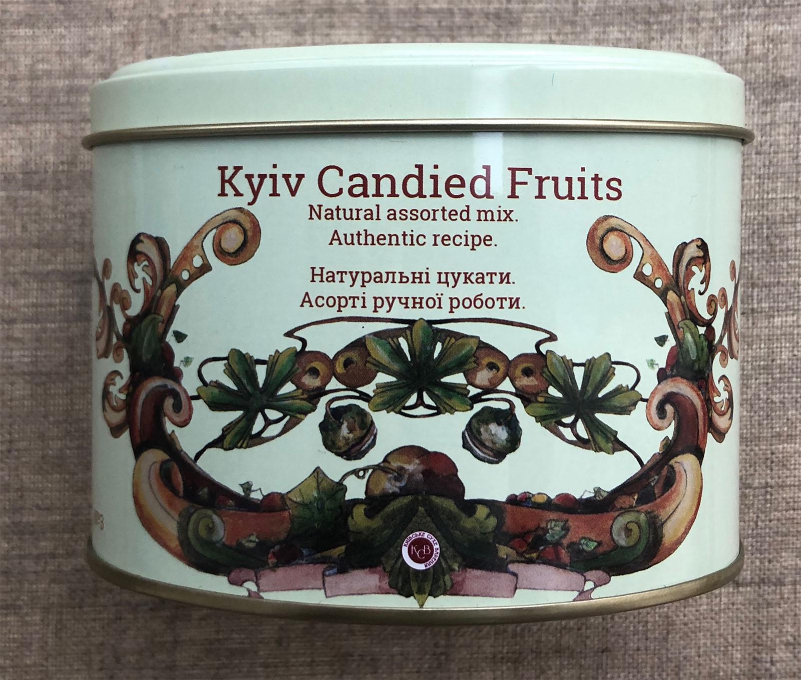 Kiewer Kandierte Früchte