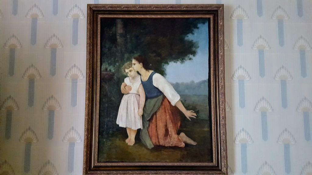 Das von Lesja Ukrajinka gemalte Bild