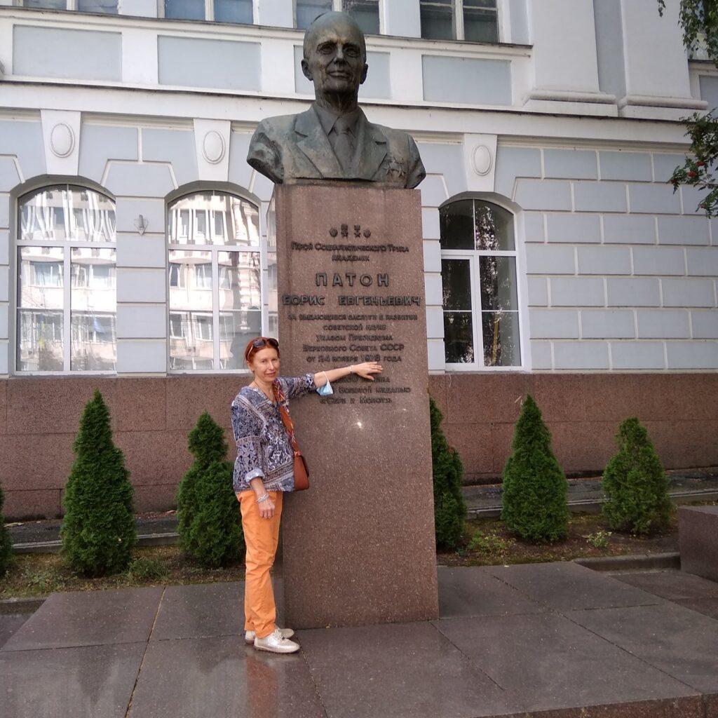 Boris-Paton-Denkmal